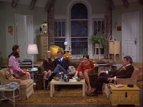 Mary Tyler Moore Show Living Room