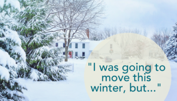 Don't Dismiss Buying/Selling A Home In The Winter!