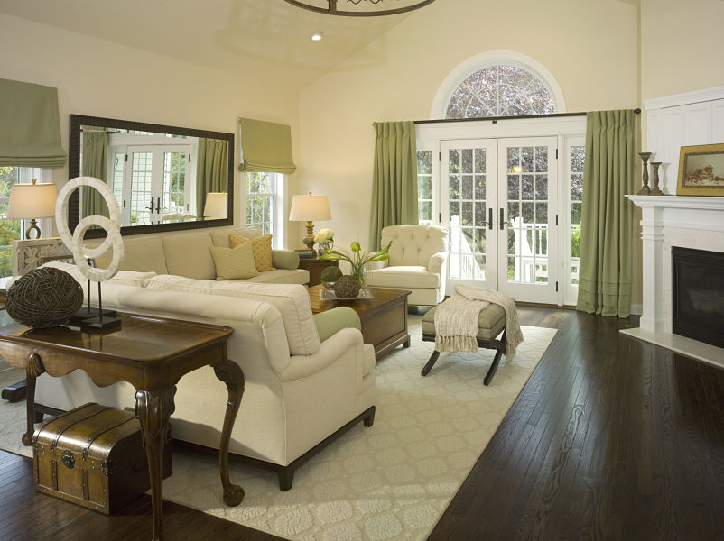 Peaceful Family Room