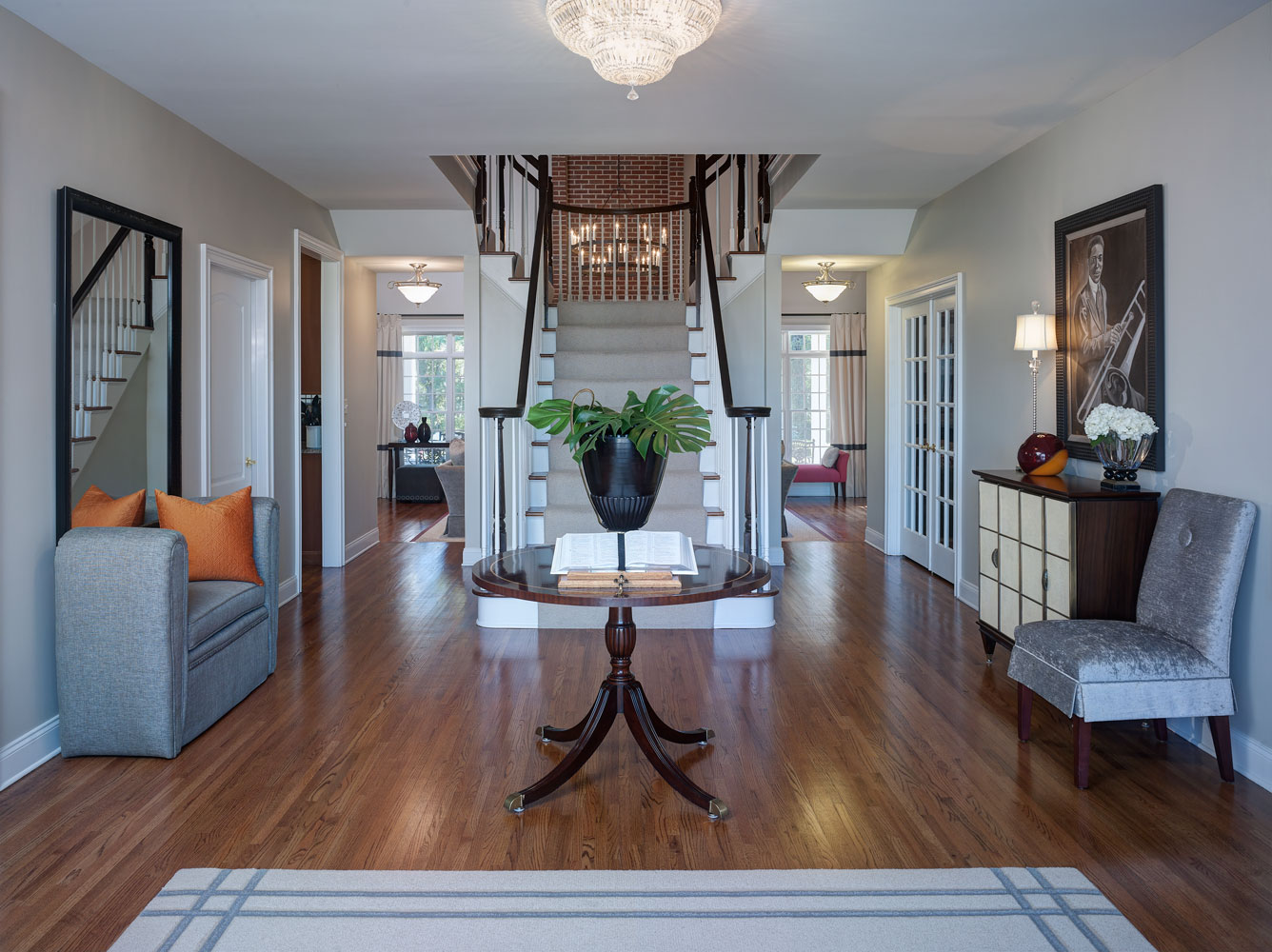 Chic & Welcoming Foyer