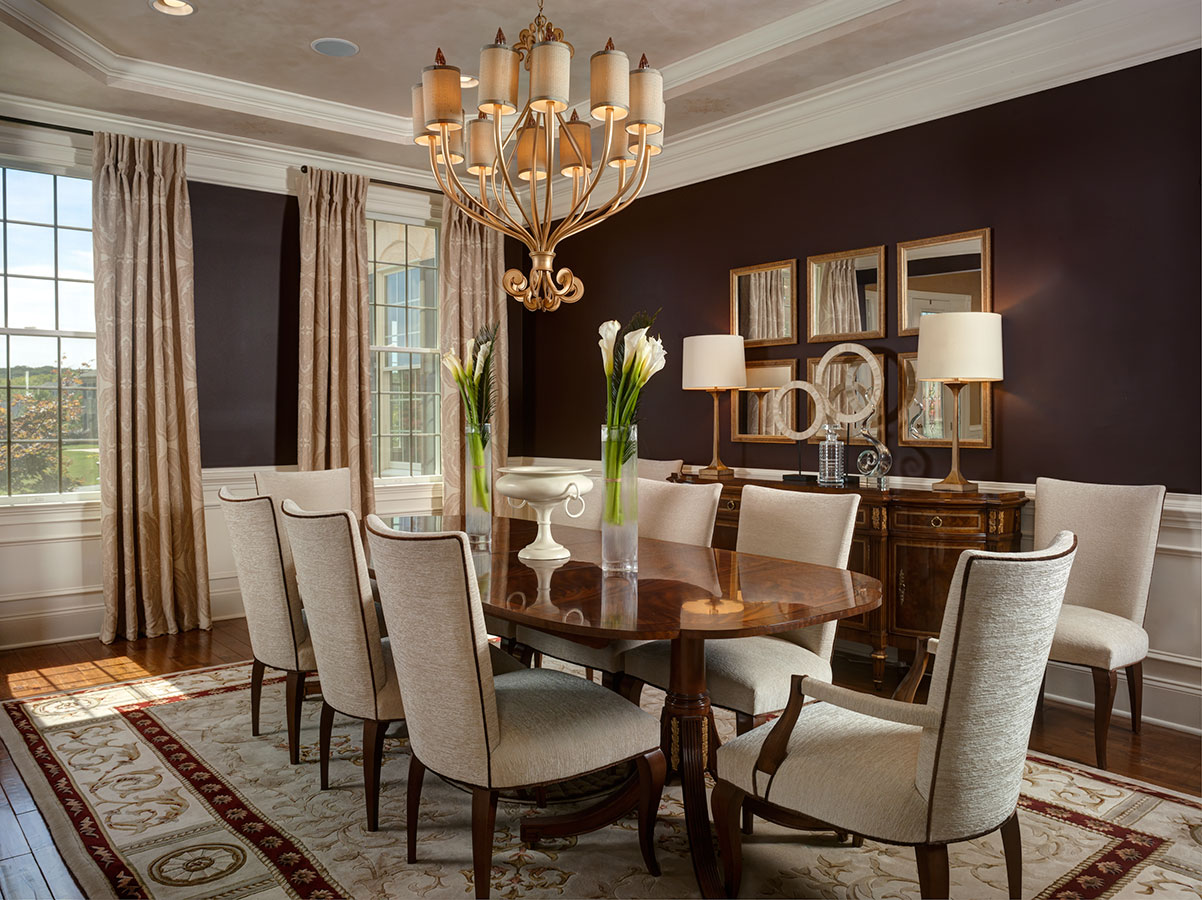 Sleek Dining Room