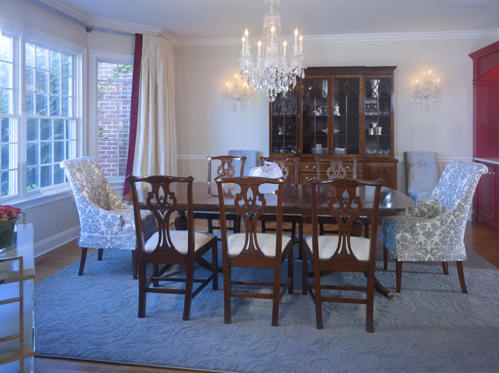 Peachy A Dining Room Gets Its Groove On Interiors By Donna Hoffman Gmtry Best Dining Table And Chair Ideas Images Gmtryco