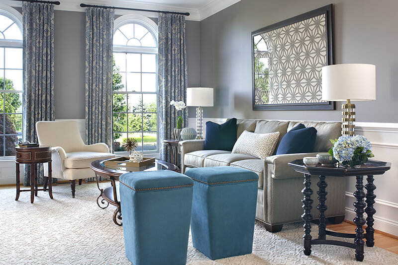 Living Family Room Interior Design Services Interiors By Donna