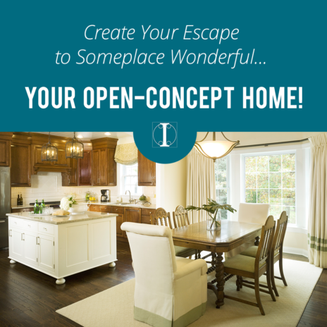 Decorating Challenges in Open Concept Homes - Interiors by ...