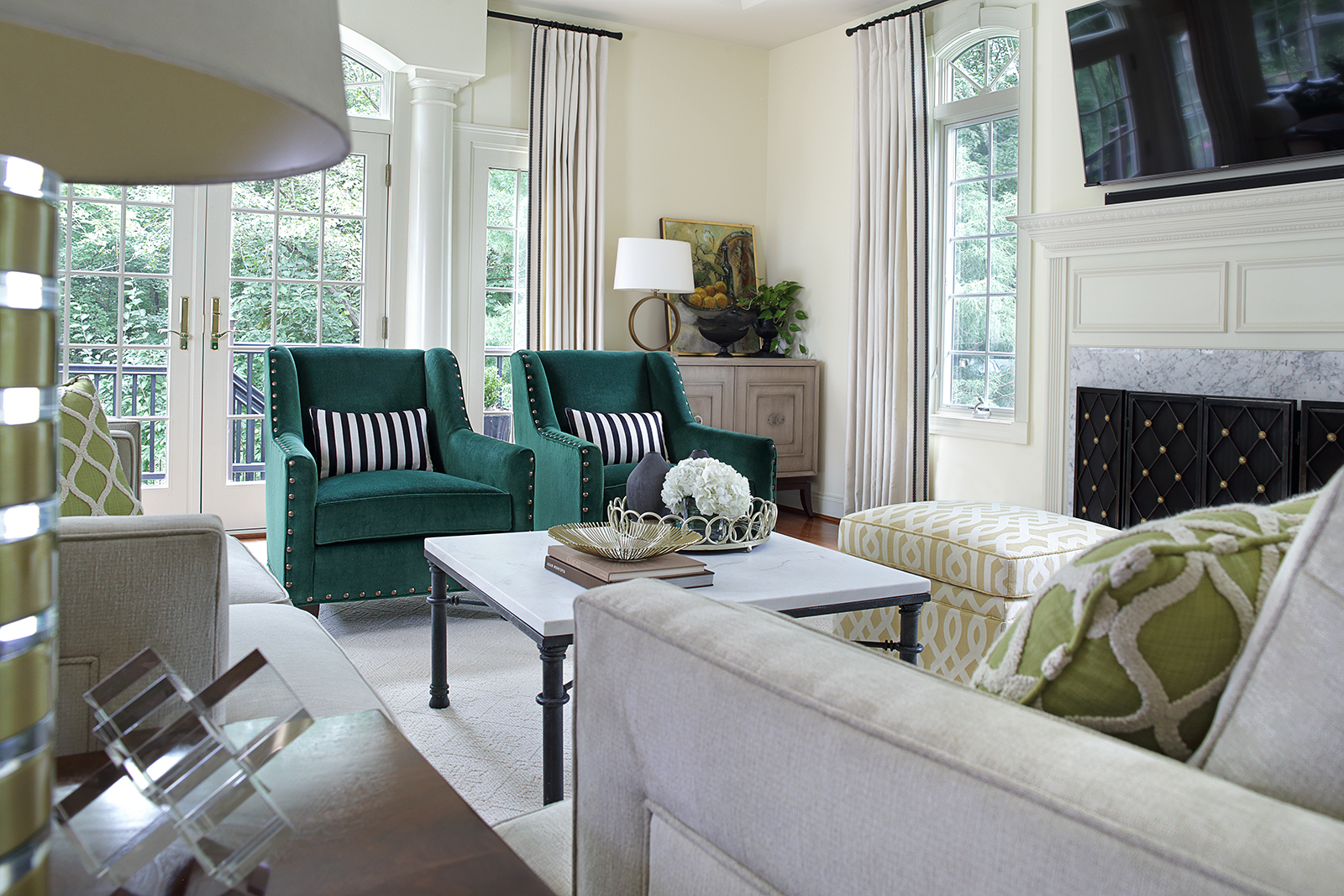 Favorite Past Projects: Gorgeous Family Room Redo